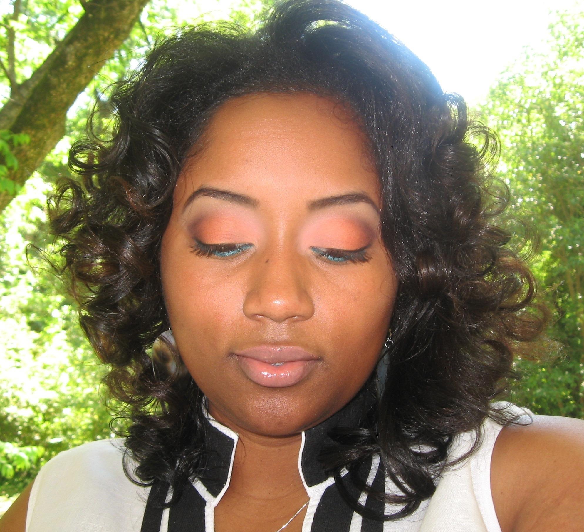 Peach Eyeshadow Sham I Am Glam