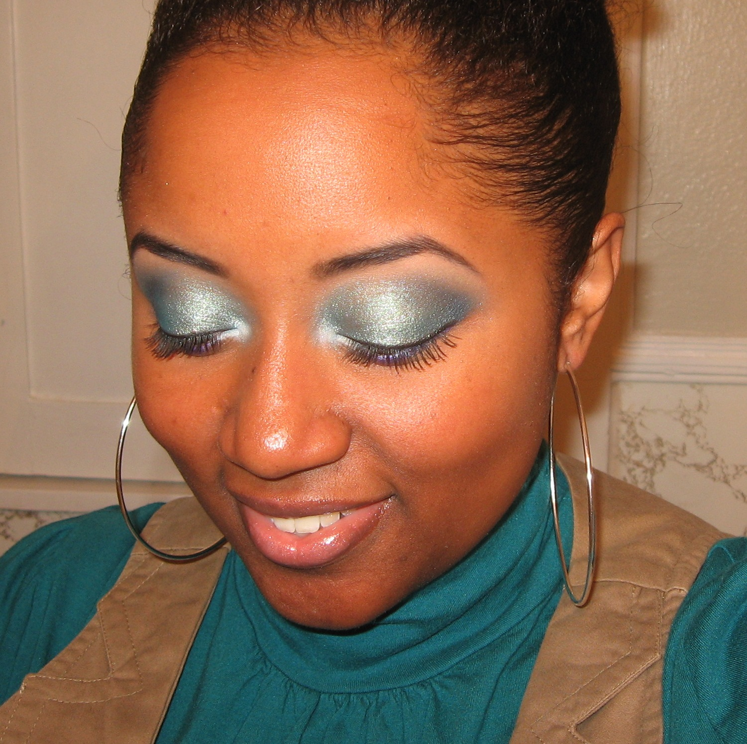 Turquoise Eyeshadow Sham I Am Glam