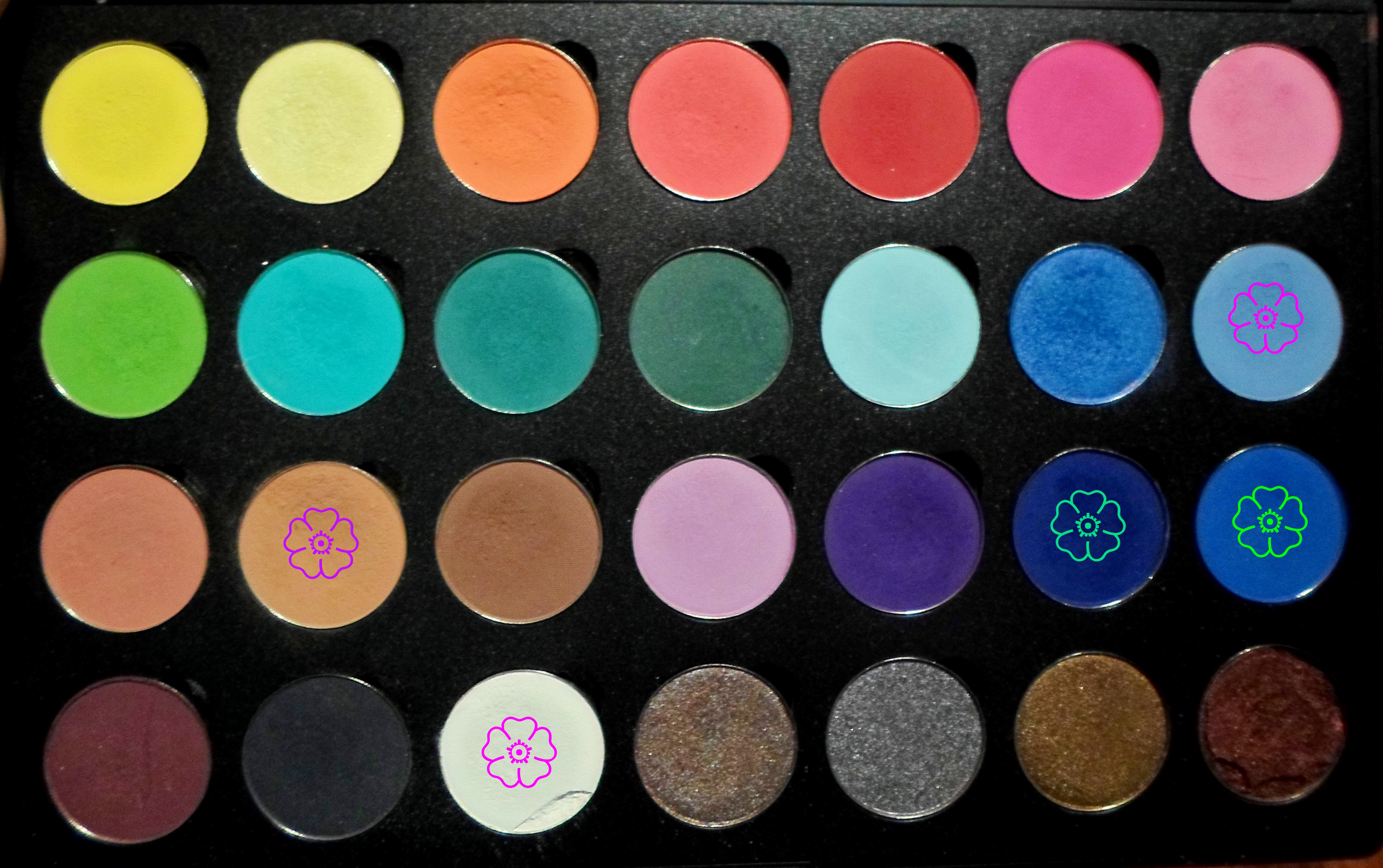 "I started using Coastal Scents ""Hot Pots"" for about over a year now and have absolutely fallen in love with them. I recently placed another order for a few more shades because they were having one of their many 50% off sales for $ cents EACH."