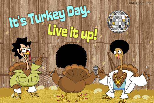 twerkin turkey